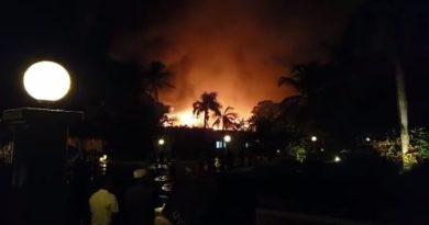 Reportan fuerte incendio en el Hotel Meliá en Bávaro