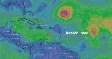 Isaac afectaría a RD entre viernes y sábado