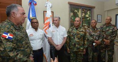 Posesionan director de la Comisión Militar y Policial de Obras Públicas