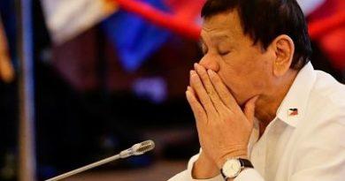 """Político israelí aconseja """"tomar una pastilla contra las náuseas"""" antes de recibir a Duterte"""