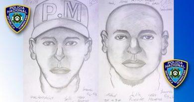 Policía Nacional difunde retrato hablado de secuestradores de empresaria en Cotuí