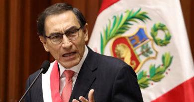 """""""No retrocederé"""": El presidente peruano amenaza con disolver el Congreso si no aprueba reformas"""