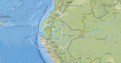Ecuador: Un fuerte sismo de magnitud 6,5 sacude Chimborazo