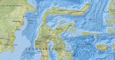 ALERTA:Un terremoto de magnitud 7,5 sacude la isla indonesia de Célebes