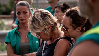 Génova recuerda a víctimas de derrumbe del puente Morandi a un mes de la tragedia