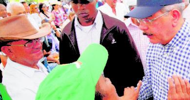 Presidente Medina garantiza apoyo productores de PP