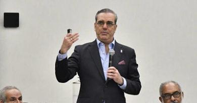 Luis Abinader deplora la situación de recursos hídricos