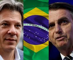 OFICIAL: Habrá segunda vuelta en Brasil entre Bolsonaro (46,33%) y Haddad (28,85%)