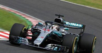 Hamilton firma su 'pole' número 80 y Vettel saldrá octavo en Suzuka