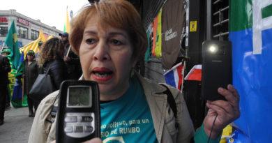 Se movilizan en NY en respaldo al paro del Cibao