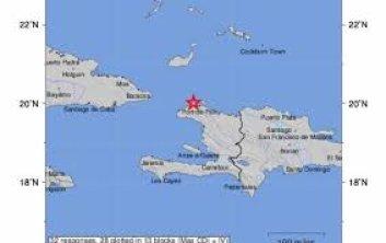 Sismo de 5.9 se registra en Haití; sacude varias provincias del país