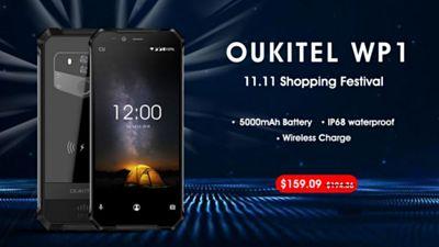 Oukitel WP1 más resistente y barato que nunca en AliExpress
