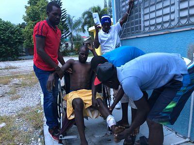 VILLA RIVA:Nacional Haitiano resulta herido de bala