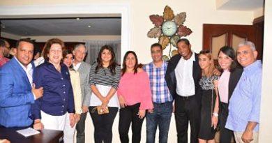 FreddyPérez coordinador General del Sector Externo edifica los movimientos en Puerto Plata