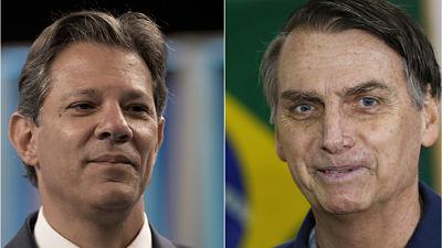 A cinco días del balotaje en Brasil, Haddad acorta distancia con Bolsonaro en nuevo sondeo