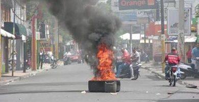 Se agudizan protestas en municipio Esperanza por desalojos