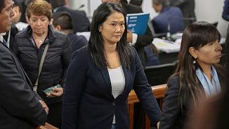 Audiencia judicial contra Keiko Fujimori y seguidores se desarrolla por quinto día