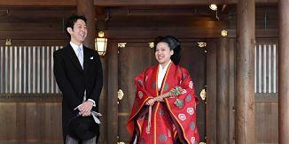 Princesa japonesa renuncia a su estatus real para casarse con plebeyo