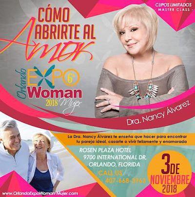 ORLANDO: Llega a Expo Woman 2018 la Dra. Nancy Alvarez