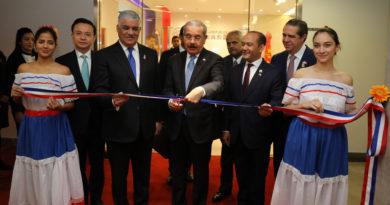 CHINA: El Presidente Danilo Medina inaugura embajada de R. Dominicana