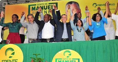 FA proclama Jiménez como candidato alcalde