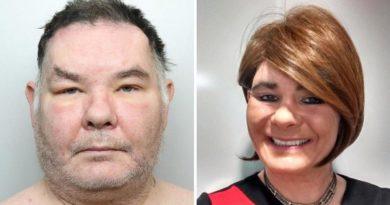 Envían a una cárcel de hombres al transgénero que abusó de cuatro reclusas en una prisión de mujeres
