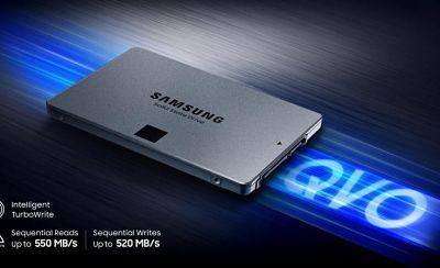 Los nuevos discos Samsung SSD 860 QVO con hasta 4 TB, son sorprendentemente baratos