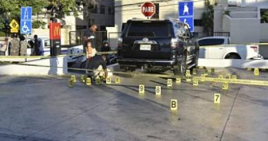 Uno de los heridos durante tiroteo es empleado de McDonalds de la Abraham Lincoln