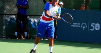 Cinco jugadores de RD disputarán Oro en el Invitacional Mundial de Tenis de Olimpiadas Especiales