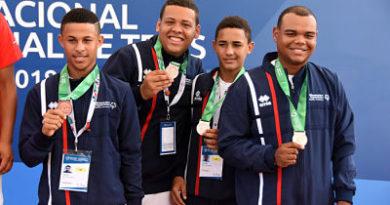 RD suma 16 medallas en el Invitacional Mundial de Tenis