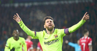 Sexto gol de Messi en triunfo del Barça