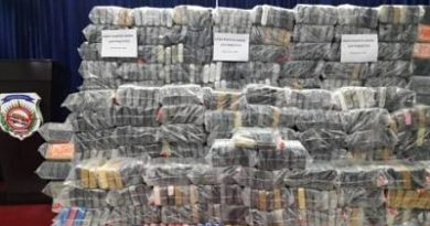 DNCD ocupa 978 paquetes presumiblemente de cocaína en el Puerto de Haina