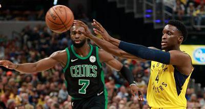 Triple de Oladipo da reñida victoria a Pacers ante Celtics