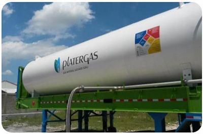 Empresa chilena compra del 51 % de dominicana de gas natural Plater