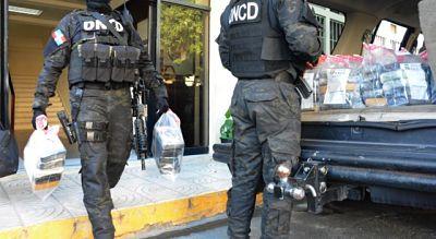 DNCD ocupa 88 kilos de cocaína el Puerto Multimodal Caucedo