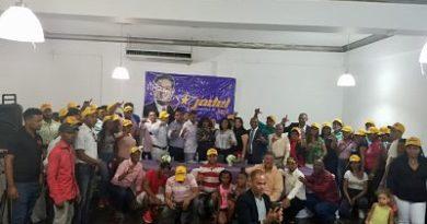 Juventud de Leonel (Judel) juramenta equipos de campaña en Azua