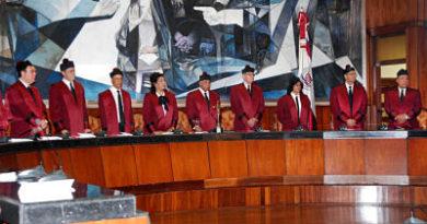 Cierra plazo con 108 personas inscritas para optar por las cuatro vacantes en Tribunal Constitucional