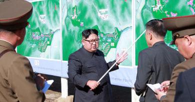 Kim Jong-un inspecciona las pruebas de nuevas armas de alta tecnología