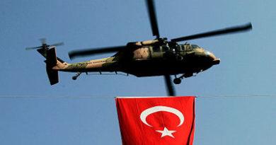 Cuatro fallecidos al estrellarse un helicóptero militar en Estambul