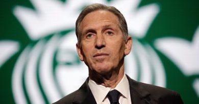 Ex CEO de Starbucks quiere ser el próximo presidente de EEUU en 2020