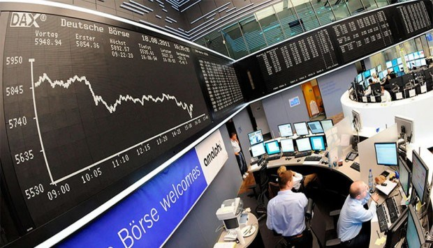 Mercados europeos caen hasta 2 por ciento