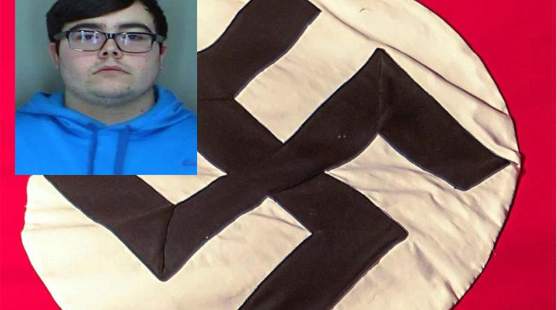 Arrestan estudiante de SUNY por desplegar propaganda nazi en área de colegio comunitario