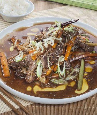 Carne estilo Sichuan