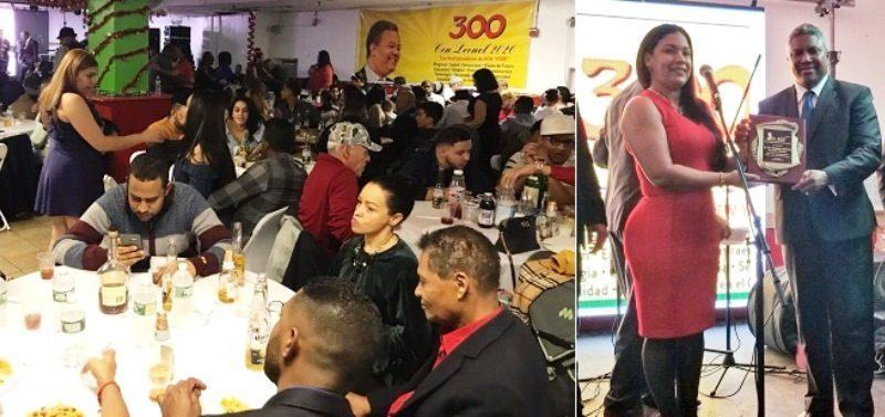 Cientos seguidores Leonel en NY celebran fiesta navideña