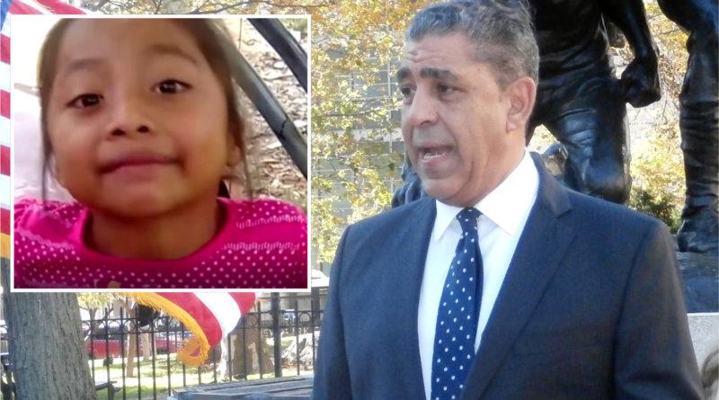 Espaillat dice muerte de niña indígena es parte de crisis de derechos humanos en frontera de EEUU