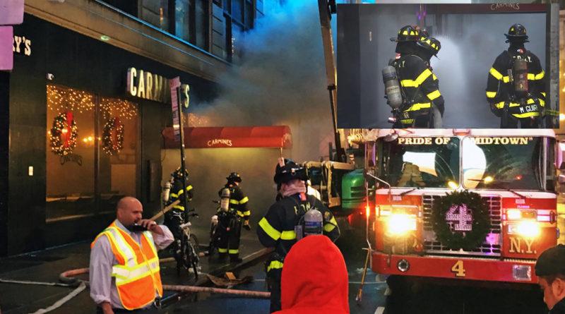 Evacúan consulado dominicano en NY por fuego en restaurante que opera en el mismo edificio