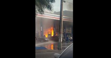 Guaguita platanera se incendia en envasadora de GLP en Villas Agrícolas
