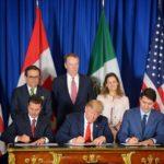 Trump, Peña Nieto y Trudeau aparcan la tensión y firman pacto comercial T-MEC