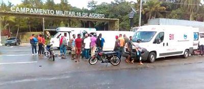 Dos muertos en dos accidentes en la autopista Duarte a pocos minutos y kilómetros de diferencia