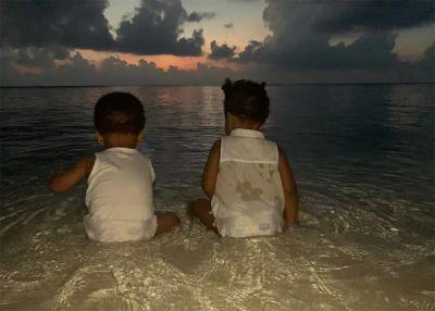 Beyoncé comparte nuevas imágenes de sus gemelos y morirás de amor